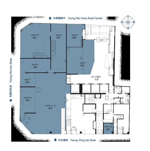 Comfloor Planning Finance : 富衛金融中心